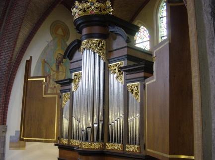 Overzicht van het Groot Orgel