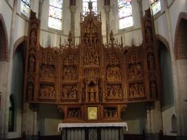 Overzicht van het altaarstuk